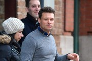 """""""American Idol"""" host Ryan Seacrest steps out in New York City, New York on December 30, 2014. Ryan will again be hosting Dick Clark's """"New Year's Rockin' Eve"""" this year in Times Square."""