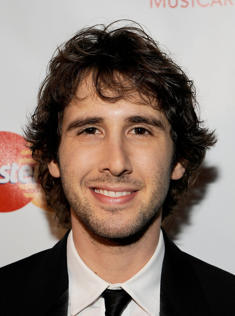 Josh Groban in 2010 MusiCares Person Of The Year Tribute