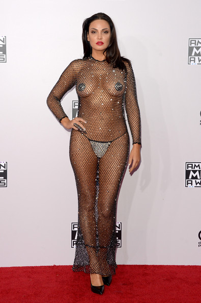 Singer Bleona Qereti attends the 2014 American Music Awards at Nokia Theatre L.A. Live on November 23, 2014 in Los Angeles, California.