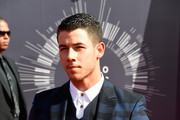Recording artist Nick Jonas attends the 2014 MTV Video Music Awards at The Forum on August 24, 2014 in Inglewood, California.
