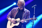 Recording artist Ed Sheeran performs onstage during the 2014 iHeartRadio Music Festival at the MGM Grand Garden Arena on September 20, 2014 in Las Vegas, Nevada.
