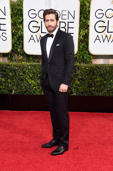 Actor Jake Gyllenhaal attends the 72nd Annual Golden Globe Awards at The Beverly Hilton Hotel on January 11, 2015 in Beverly Hills, California.