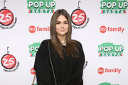 "Actress Maia Mitchell attends ABC's ""25 Days Of Christmas"" Celebration at Cucina at Rockerfellar Center on December 7, 2014 in New York City."