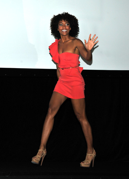 "Annie Ilonzeh - ""Charlie's Angels"" Panel  - Comic-Con 2011"