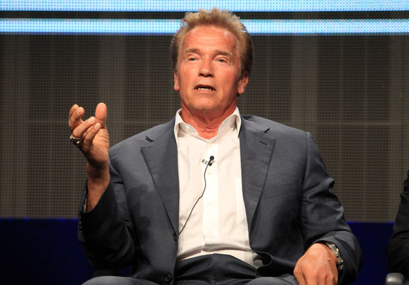 Arnold Schwarzenegger Former Governor of California/actor Arnold Schwarzenegger, subject of Short documentary, speaks at the '30 for 30 Shorts' discussion panel during the ESPN portion of the 2012 Summer Television Critics Association tour at the Beverly Hilton Hotel on August 3, 2012 in Los Angeles, California.