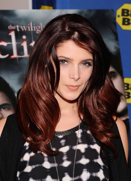 """Ashley Greene Actress Ashley Greene signs copies of """"The Twilight Saga: Eclipse"""" at Best Buy on December 17, 2010 in New York City."""