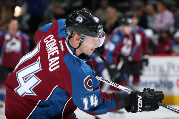 Image result for Blake Comeau avalanche