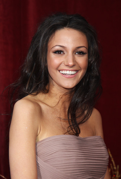 Michelle Keegan In British Soap Awards 2010 Outside