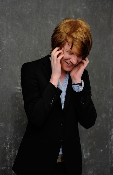 Domhnall Gleeson Director/ actor Domhnall Gleeson visits the Tribeca Film Festival 2011 portrait studio on April 28, 2011 in New York City.