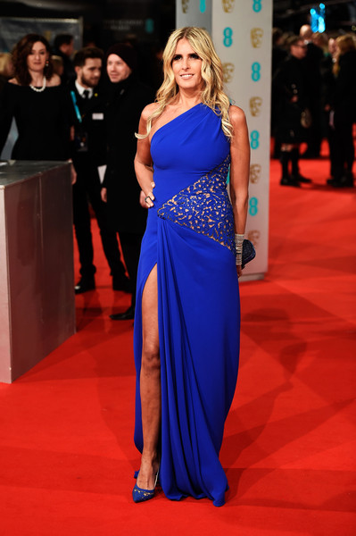 Titziana Rocca attends the EE British Academy Film Awards at The Royal Opera House on February 8, 2015 in London, England.