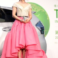 Fan Bingbing in a Jason Wu Floral Train Dress at the 24th Tokyo International Film Festival (TIFF) Opening Ceremony