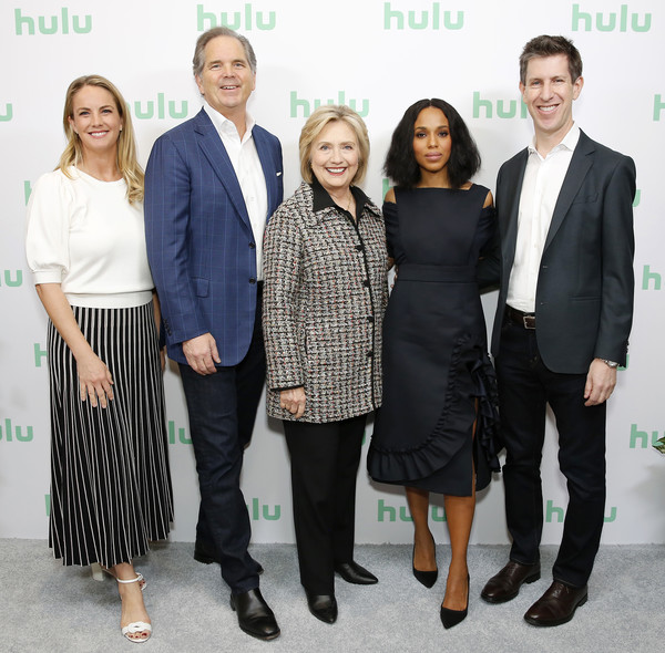 Hillary Clinton, Kelly Campbell, Kerry Washington, Randy Freer, Craig Erwich - Hulu Panel - Winter TCA 2020