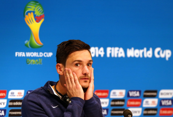 Hugo Lloris - France Training & Press Conference - 2014 FIFA World Cup Brazil