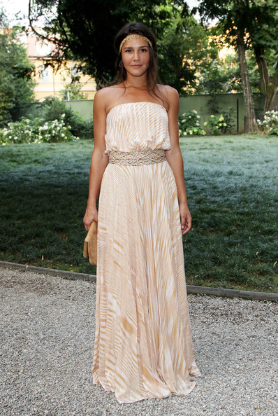 Margherita Missoni attends 'Italia - Milano, 150 Anni In Salute' - Charity Gala held at Villa Necchi on June 28, 2010 in Milan, Italy.