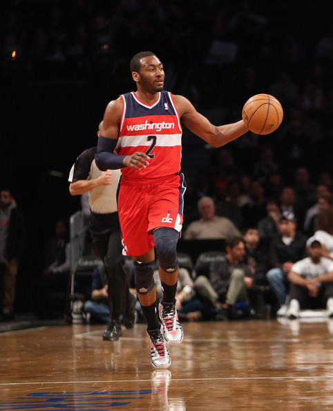 John Wall - Washington Wizards v Brooklyn Nets