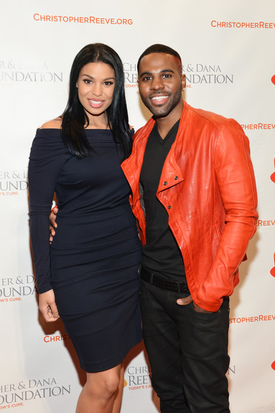 Jordin Sparks Performers Jordin Sparks and Jason Derulo attend the Christopher & Dana Reeve Foundation's A Magical Evening Gala at Cipriani, Wall Street on November 28, 2012 in New York City.