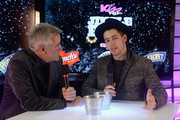 Radio personality Billy Costa (L) and Nick Jonas attend KISS 108's Jingle Ball 2014, presented by Market Basket Supermarkets at TD Garden on December 14, 2014 in Boston, Massachusetts.