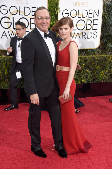 Kevin Spacey - Arrivals at the Golden Globe Awards — Part 2