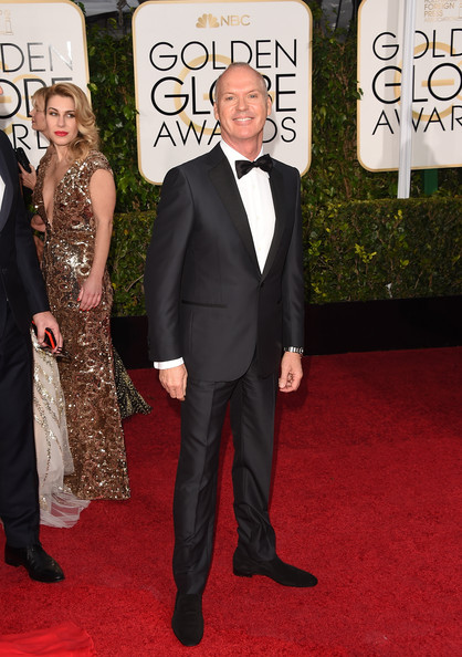 Michael Keaton - Arrivals at the Golden Globe Awards — Part 2