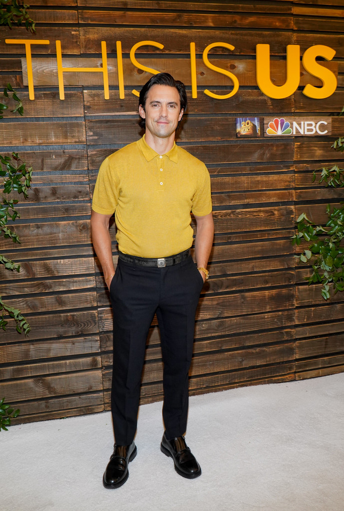 """Casually cool : Milo Ventimiglia attends NBC's """"This Is Us"""