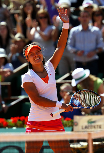 Na Li - 2011 French Open - Day Twelve