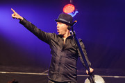 Donnie Wahlberg of New Kids On The Block performs at Gramercy Theatre on February 15, 2015 in New York City.