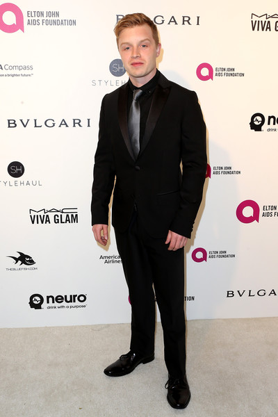 Celebrities Attend an Oscar Viewing Party