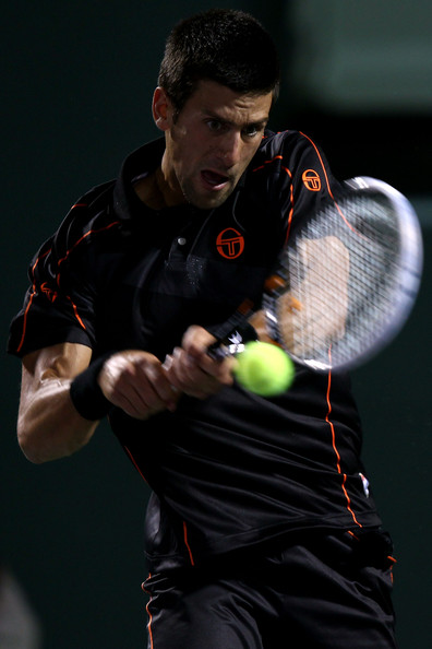 Novak Djokovic - Sony Ericsson Open