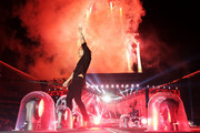 Harry Styles of One Direction performs during the 'On the Road Again' World Tour at Allianz Stadium on February 7, 2015 in Sydney, Australia.