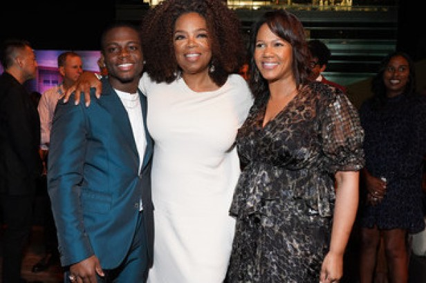 Oprah Winfrey Premiere Of OWN's 'David Makes Man' - After Party