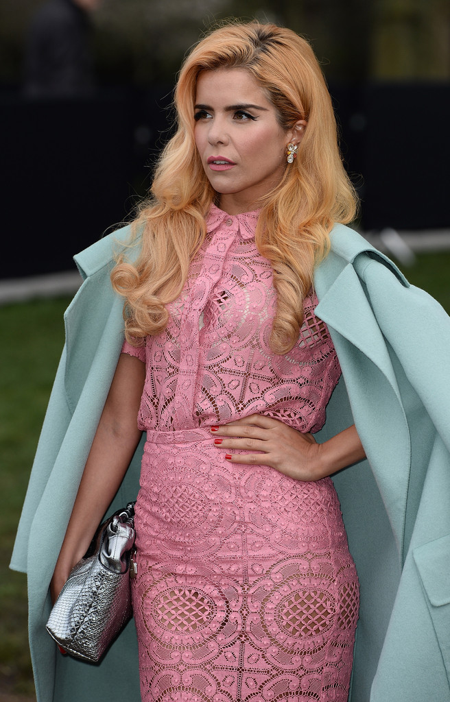 paloma faith in burberry