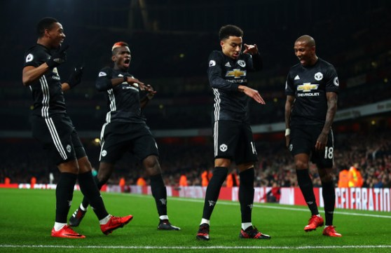 Image result for LINGARD POGBA MARTIAL UNITED