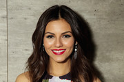 Actress Victoria Justice attends the Rebecca Minkoff fashion show during Mercedes-Benz Fashion Week Fall 2015 at The Pavilion at Lincoln Center on February 13, 2015 in New York City.