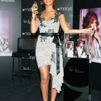 Stylish Rihanna Launches Her Own Brand of Perfume in NYC