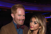 Actors Jesse Tyler Ferguson (L) and Sarah Hyland attend 'TrevorLIVE LA' Honoring Robert Greenblatt, Yahoo and Skylar Kergil for The Trevor Project at Hollywood Palladium on December 7, 2014 in Los Angeles, California.