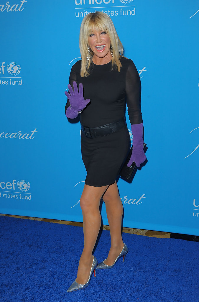 Suzanne Somers In Unicef Ball Honoring Jerry Weintraub