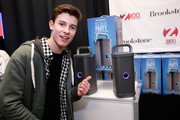 Musician Shawn Mendes attends the Z100's Artist Gift Lounge presented by Goldfish Puffs at Z100's Jingle Ball 2014 at Madison Square Garden on December 12, 2014 in New York City.