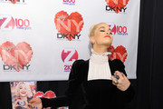 Singer Rita Ora attends the Z100's Artist Gift Lounge presented by Goldfish Puffs at Z100's Jingle Ball 2014 at Madison Square Garden on December 12, 2014 in New York City.