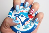 Happy Opening Day! Here Are 10 Cute Baseball Nail Art ...