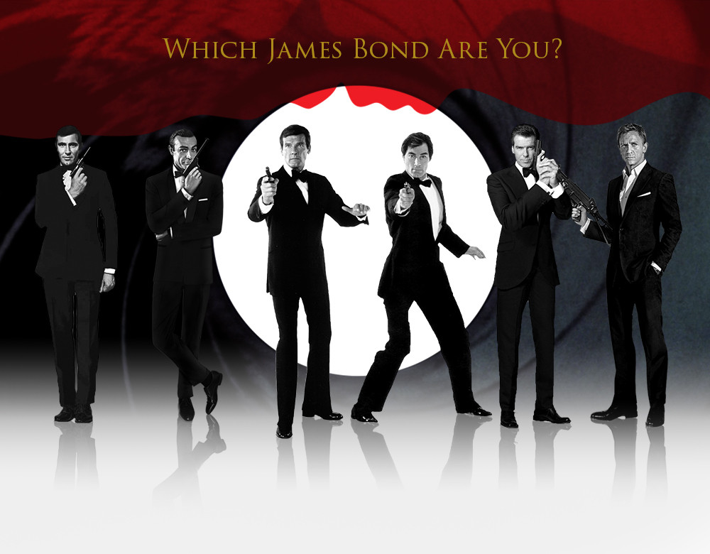 Image result for which james bond are you