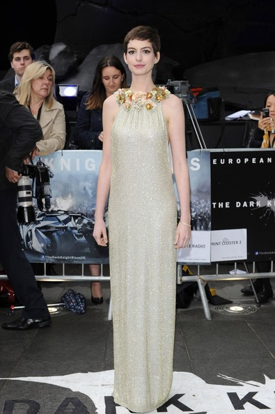 Anne Hathaway - Cillian Murphy seen arriving to the European premiere of 'The Dark Knight Rises' in Leicester Square in London