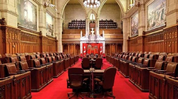 Les nominations ,début 2016, à la Chambre du Sénat sont très attendues par les Franco-Ontariens. Banque d'images du Sénat