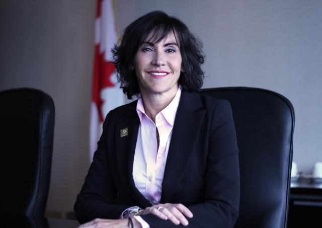 (Ghislaine Saikaley Acting Commissioner of Official Languages of Canada. Photo Credit: Office of the Commissioner of Official Languages of Canada)