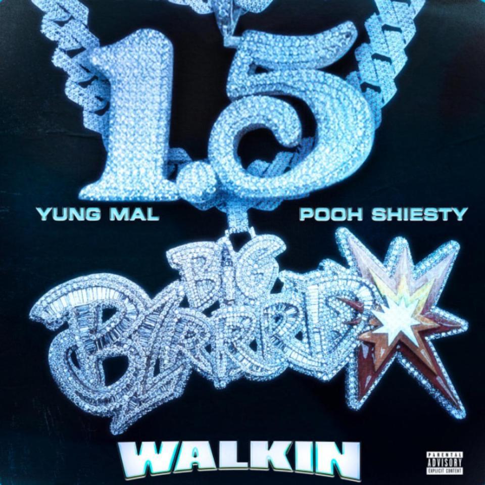 Yung Mal Ft. Pooh Shiesty – Walkin' mp3 download