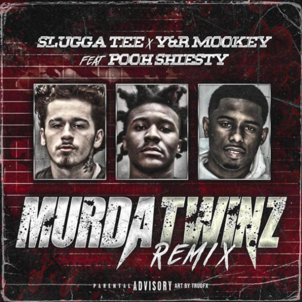 DOWNLOAD MP3: Slugga Tee & Y&R Mookey Ft. Pooh Shiesty – Murda Twinz (Remix)