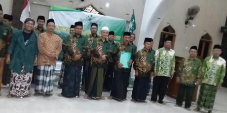 Pengurus NU Ranting Tlogosari Kulon Pedurungan Resmi Dilantik