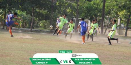 Seri Nasional Liga Santri, Regional Jabar III Gasak Region Sumatera IV 5-0