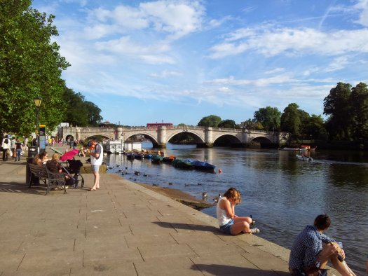 Richmond by the Thames