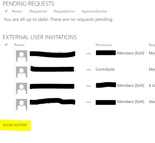 External users cannot access SharePoint site after tenant