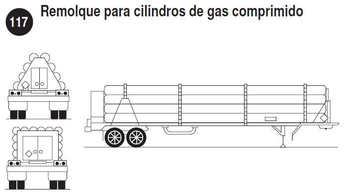 Imagen de autotanque de alta presíon.